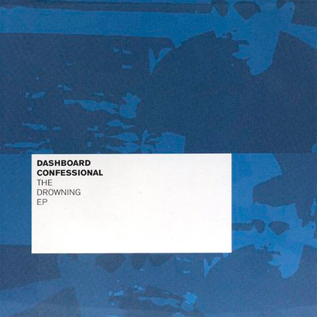 Dashboard Confessional - The Drowning (EP) CD - Fiddler Records - Hello Merch