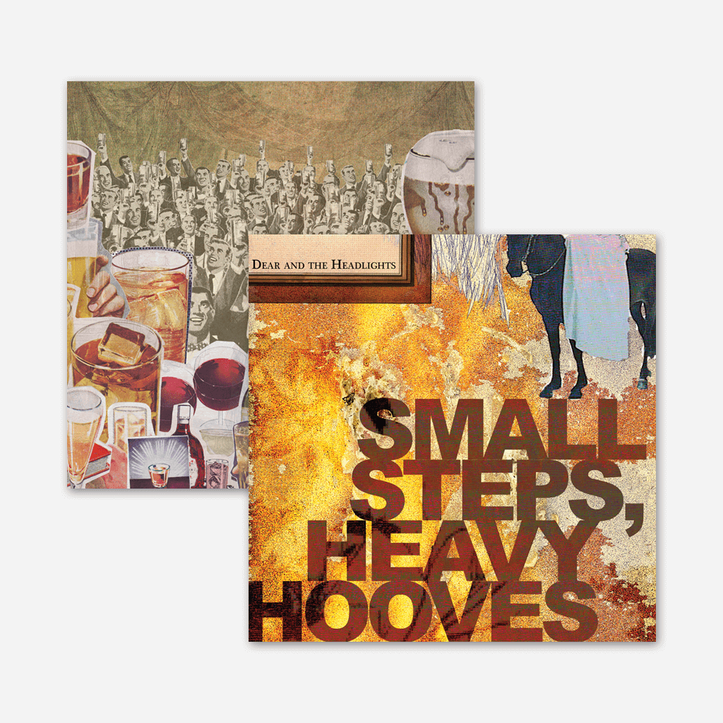 "Dear and the Headlights - Small Steps, Heavy Hooves /  Drunk Like Bible Times 10th Anniversary Triple Disk 12"" LP Remastered Reissue"
