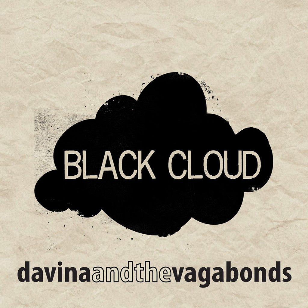 Black Cloud CD - Davina and The Vagabonds - Hello Merch