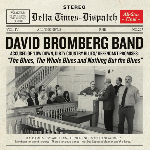 The Blues, The Whole Blues And Nothing But The Blues CD by David Bromberg for sale on hellomerch.com