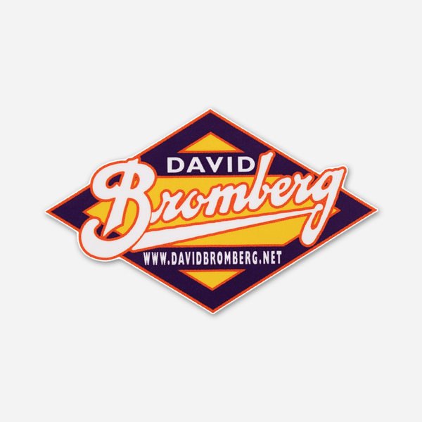 David Bromberg Band Logo Sticker by David Bromberg for sale on hellomerch.com