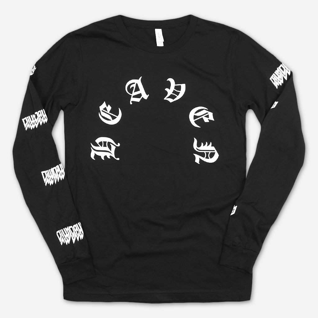 Heaven Black Long Sleeve T-Shirt