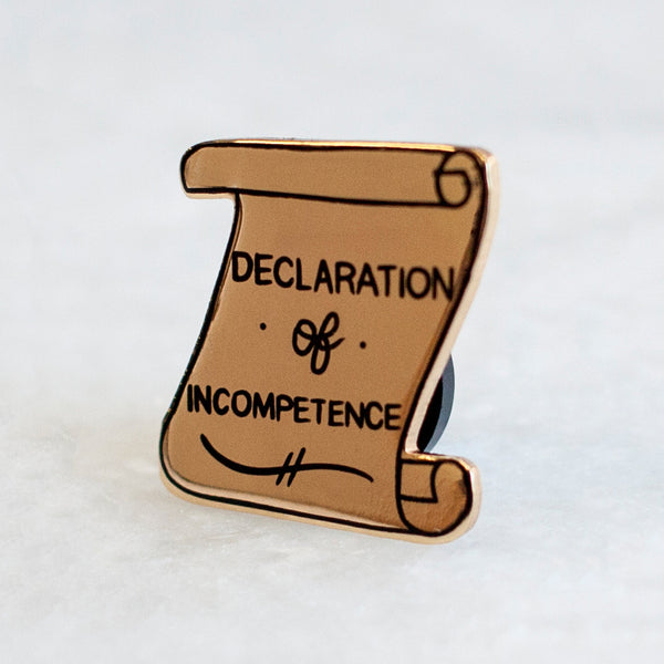 Declaration Pin by Owen for sale on hellomerch.com