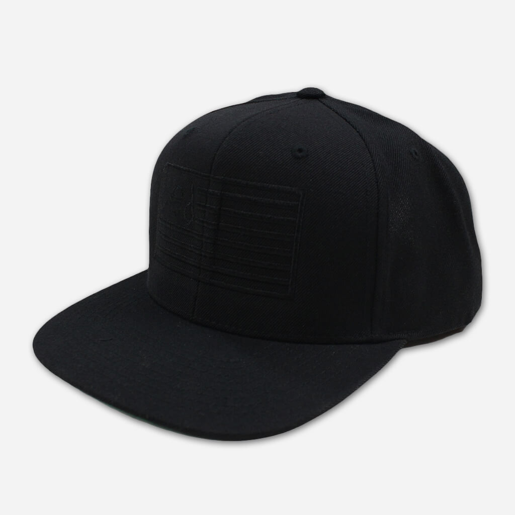 Ded Flag Snapback Hat - Ded - Hello Merch