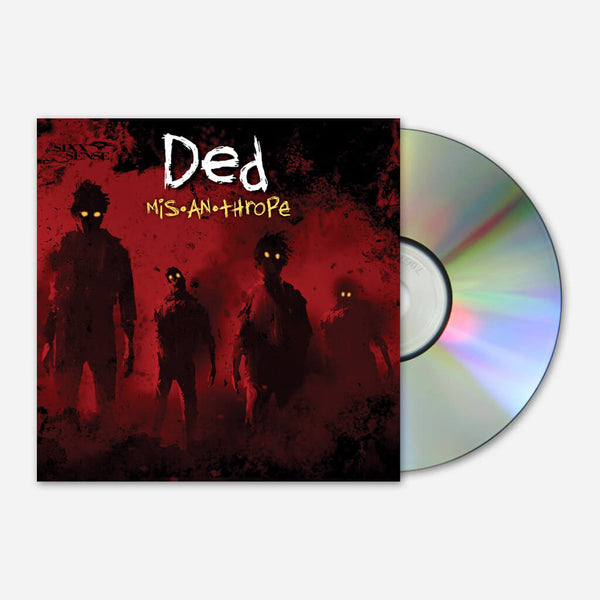 Misanthrope CD by Ded for sale on hellomerch.com