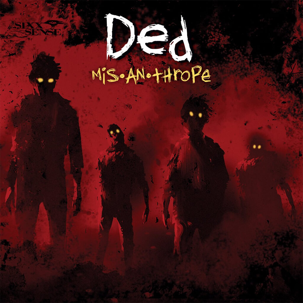 Misanthrope CD - Ded - Hello Merch