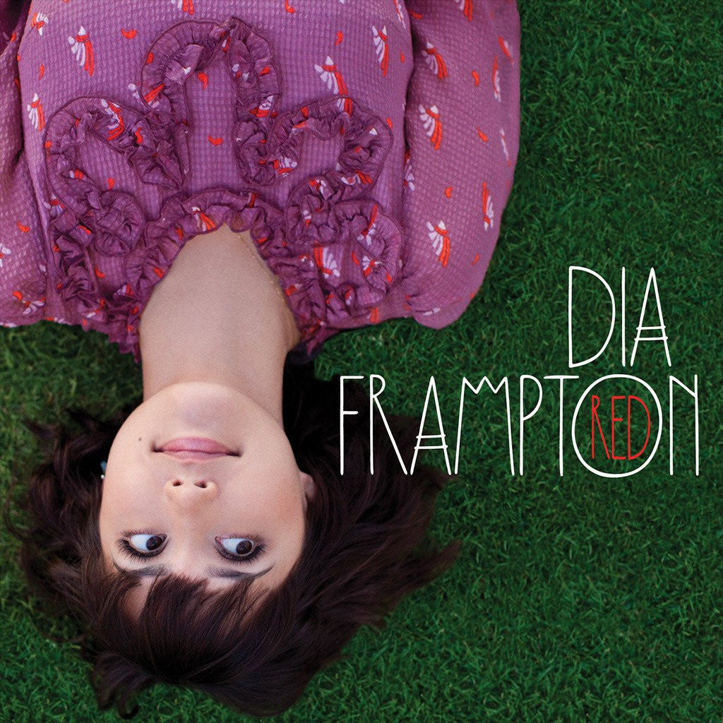 Free People RED Album Cover Dress - Dia Frampton - Hello Merch