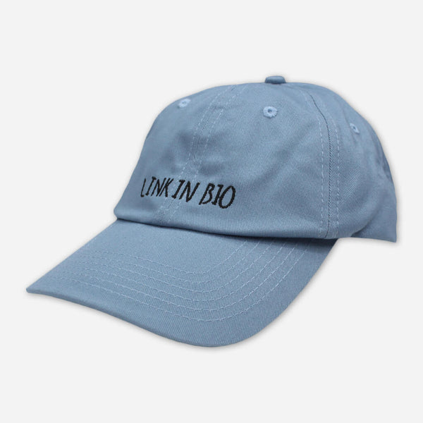 Link In Bio Dad Hat by Diet Cig for sale on hellomerch.com