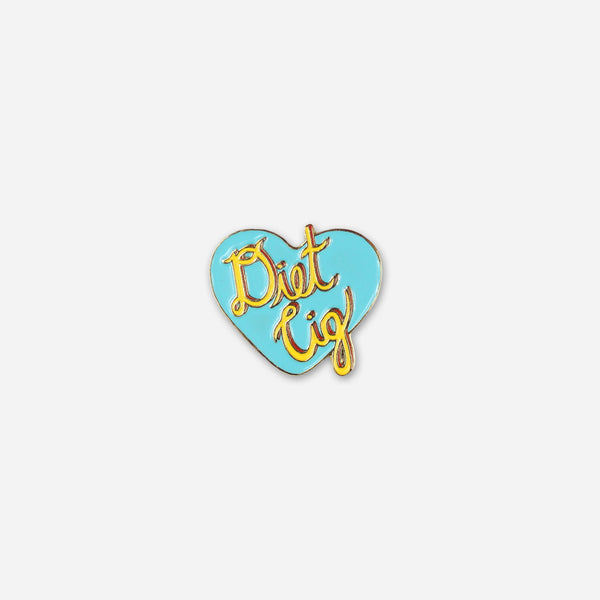 Diet Cig Heart Enamel Pin by Diet Cig for sale on hellomerch.com
