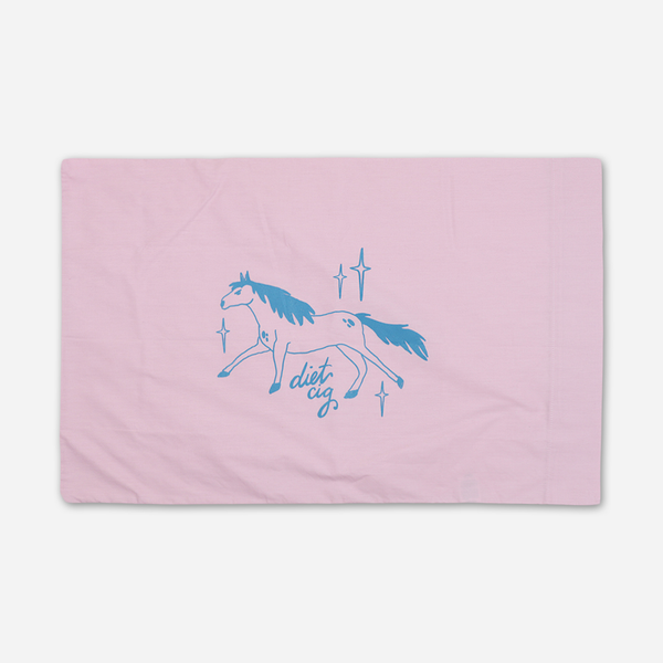 Pissed Pony Rose Pillowcase by Diet Cig for sale on hellomerch.com