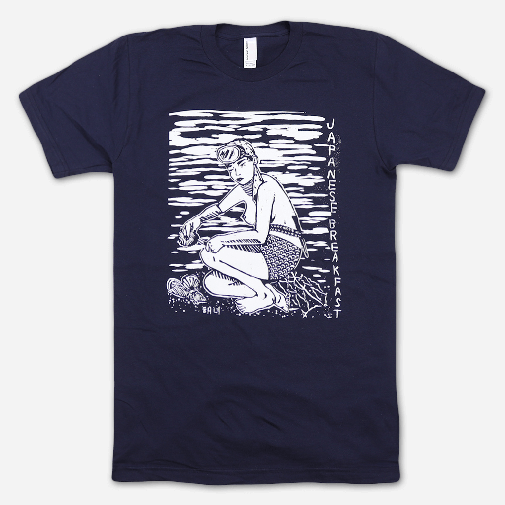 Diver Navy T-Shirt - Japanese Breakfast - Hello Merch