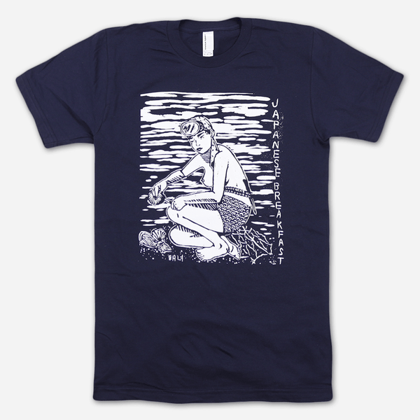 Diver Navy T-Shirt by Japanese Breakfast for sale on hellomerch.com