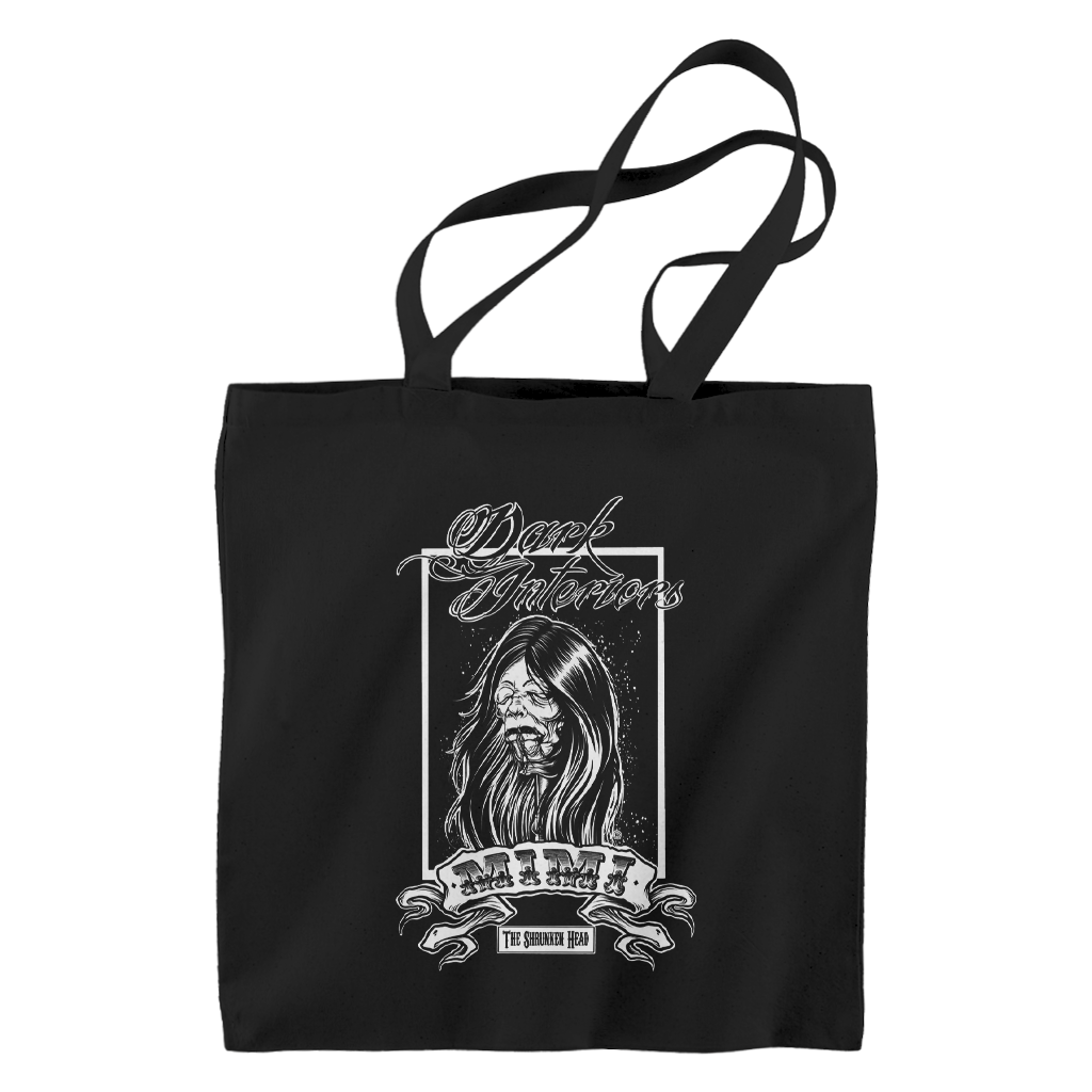 Mimi Black Tote Bag