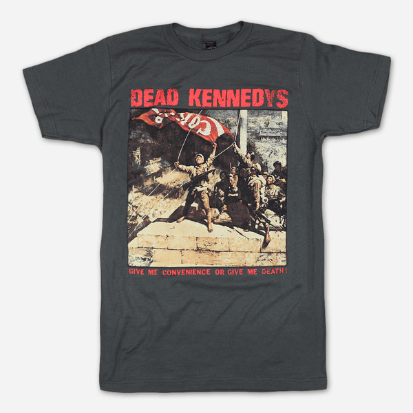 ca42d7f82a Give Me Convenience Charcoal T-Shirt by Dead Kennedys for sale on  hellomerch.com