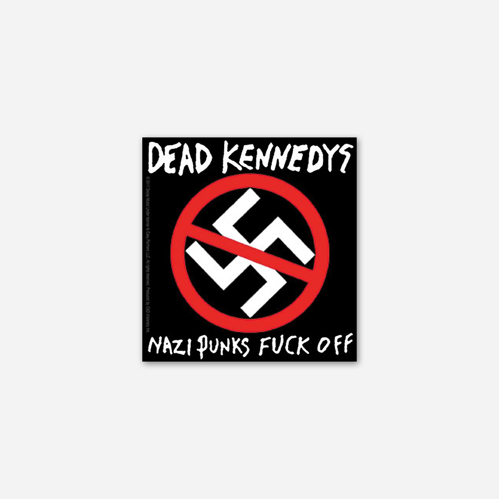 Nazi Punks Fuck Off Sticker