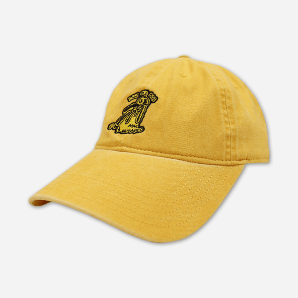 299ae1ab9ffd16 Dog Doodle Yellow Dad Hat by Mac DeMarco for sale on hellomerch.com