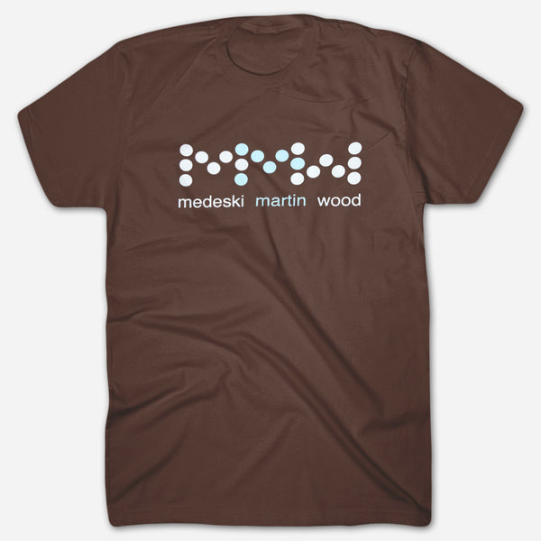 ecc6bbbc Dots Brown T-Shirt by Medeski Martin & Wood for sale on hellomerch.com
