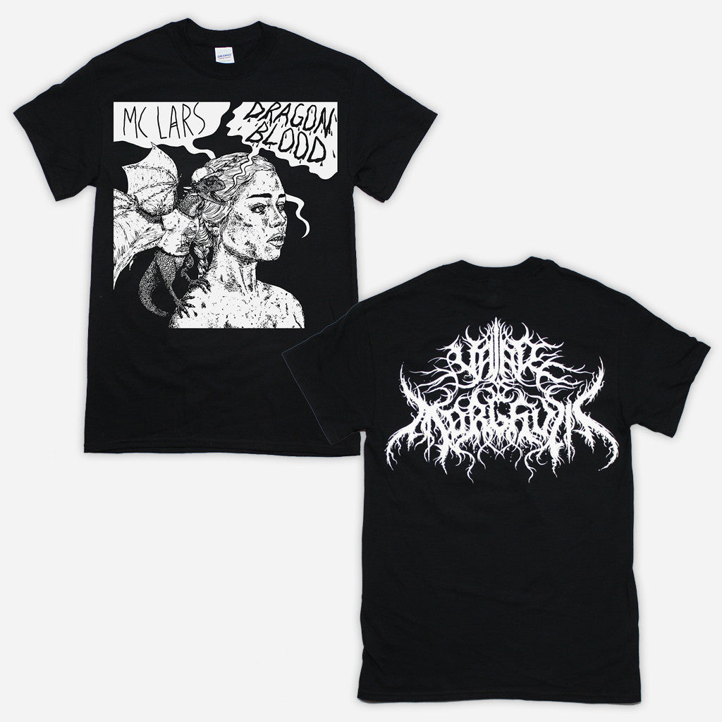 """Dragon Blood"" Black T-Shirt"