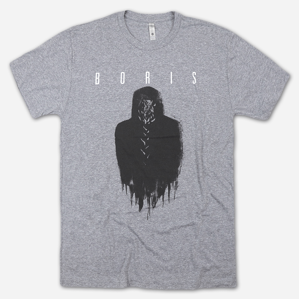 TRIO Tour Grey Tri-Blend - Boris (Band) - Hello Merch