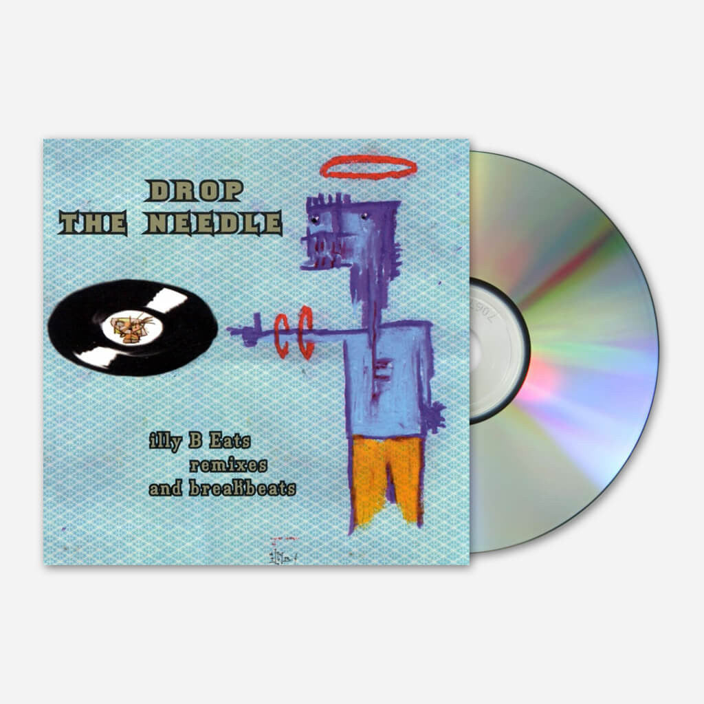 illy B Eats Remixes: Drop The Needle CD - Billy Martin - Hello Merch