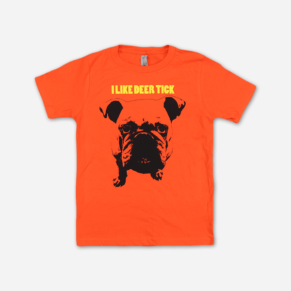I Like Deer Tick Classic Orange Youth T-Shirt by Deer Tick for sale on hellomerch.com