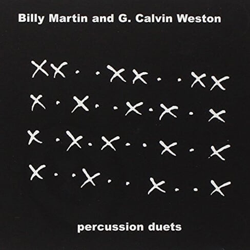 Billy Martin & G. Calvin Weston - Percussion Duets CD - Billy Martin - Hello Merch