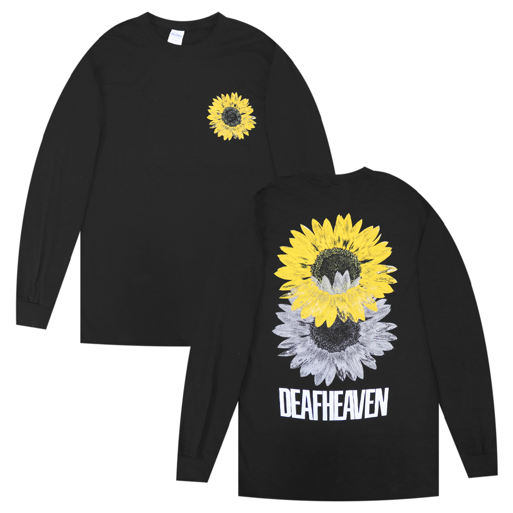 Sunflower Black Long Sleeve T-Shirt