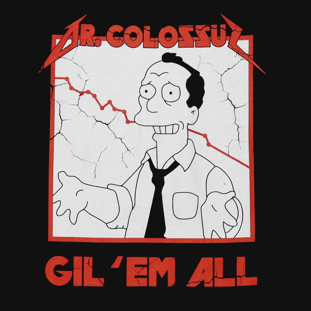 Gil 'Em All Black Long Sleeve Shirt