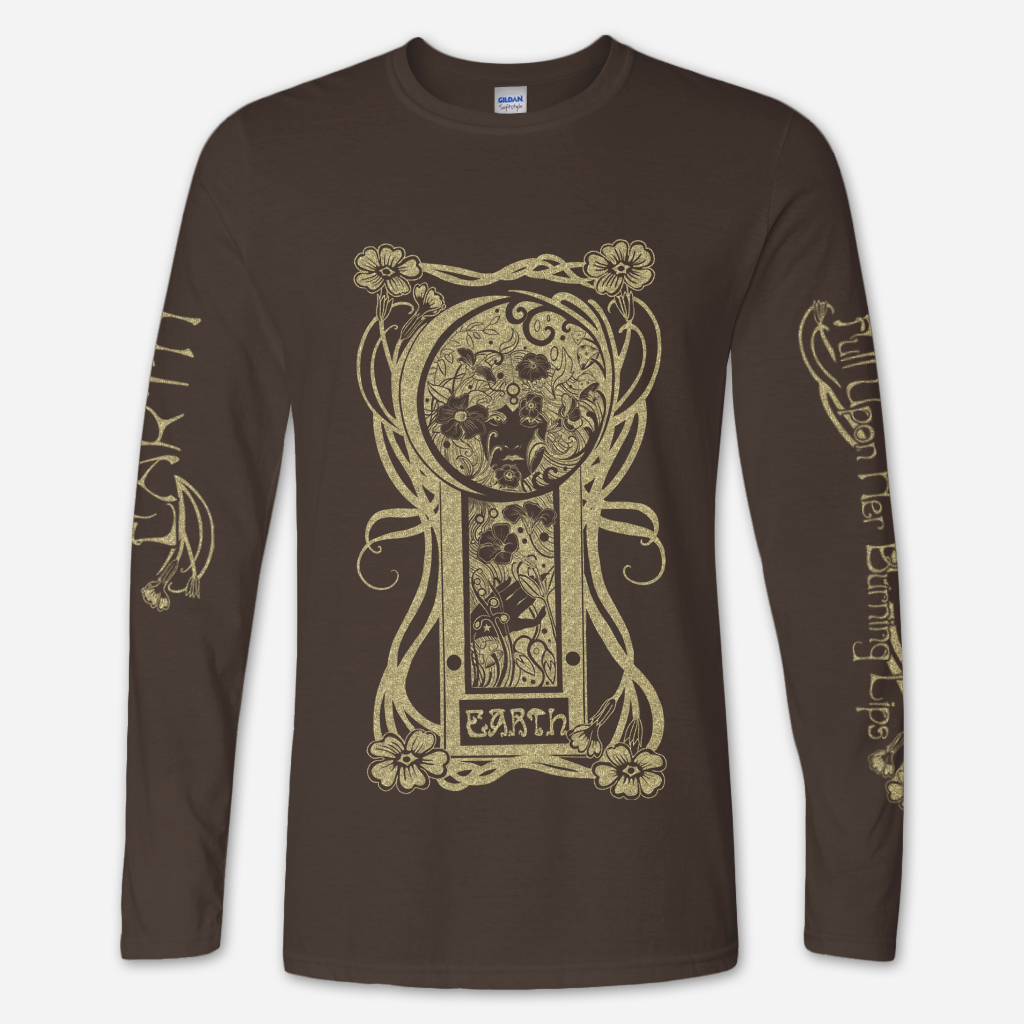 FUHBL Long Sleeve Dark Chocolate T-Shirt