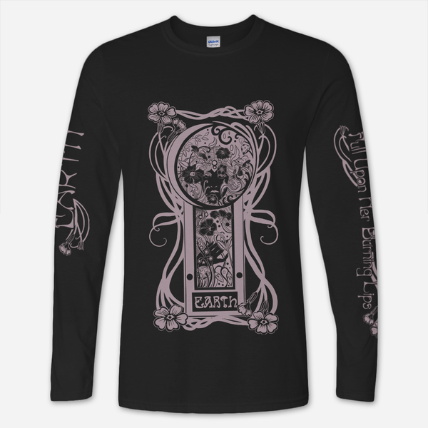 FUHBL Long Sleeve Black T-Shirt by Earth for sale on hellomerch.com