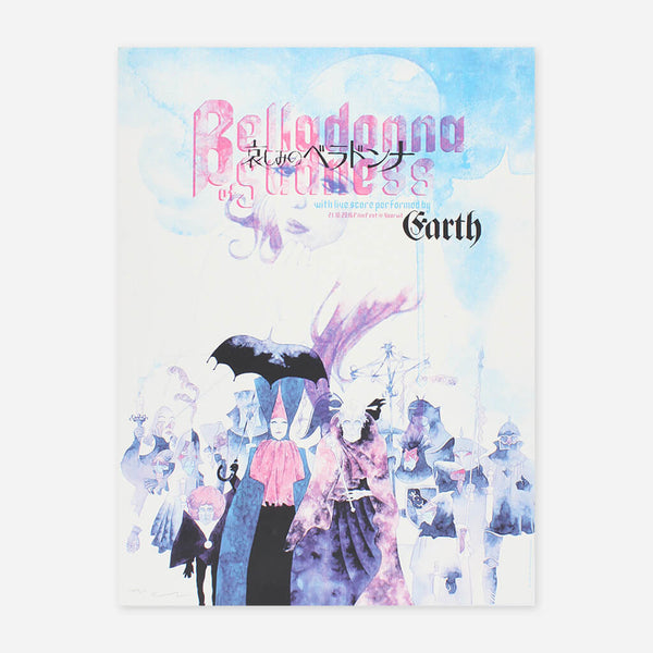 Earth's 'Belladonna of Sadness' Live Soundtrack Poster by Earth for sale on hellomerch.com