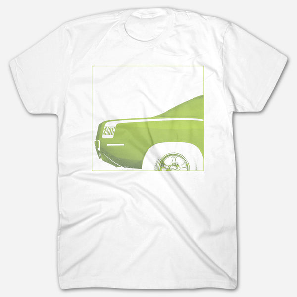 Pentastar White T-Shirt by Earth for sale on hellomerch.com