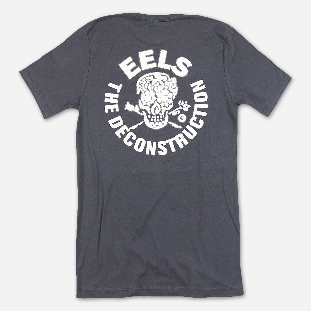 Deconstruction Skull Dark Grey T-Shirt