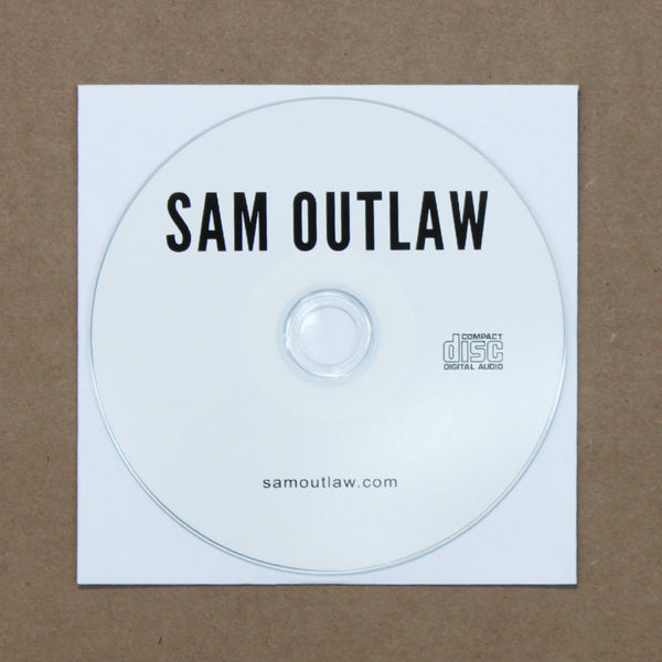 Sam Outlaw EP CD by Sam Outlaw for sale on hellomerch.com