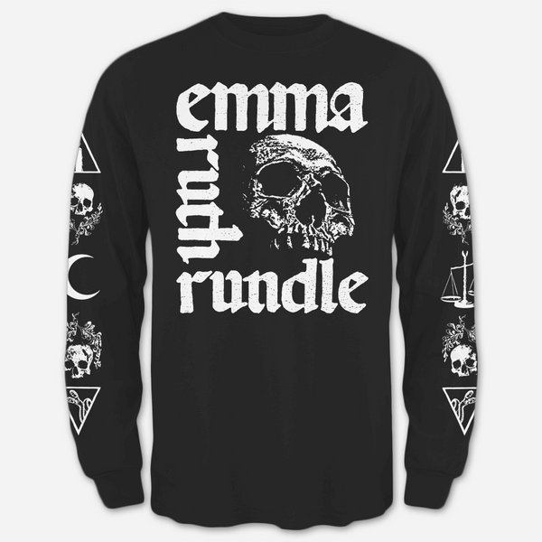 Patterson Black Long Sleeve T-Shirt by Emma Ruth Rundle for sale on hellomerch.com