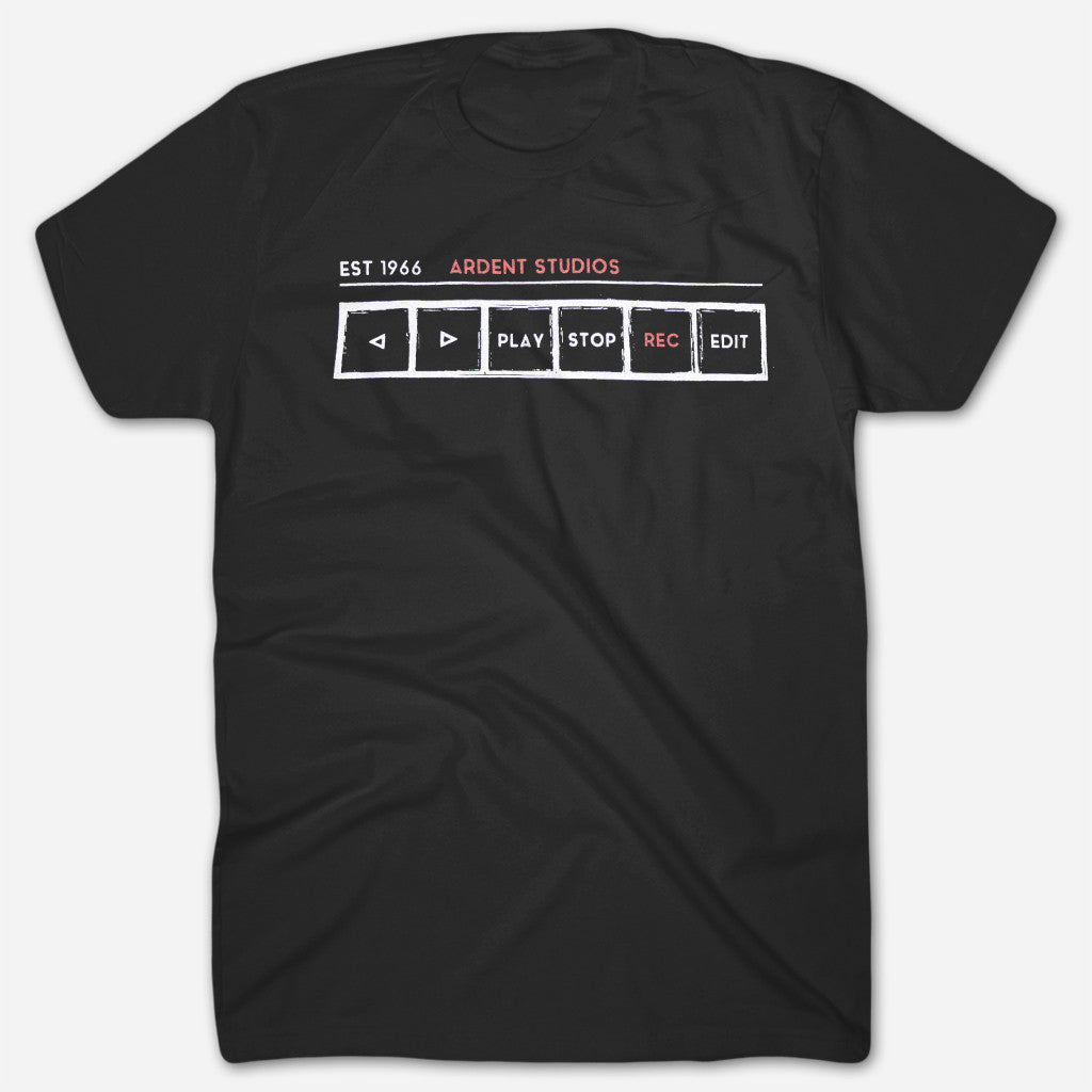 Ardent Studios - Tape Machine T-Shirt - Ardent Music - Hello Merch