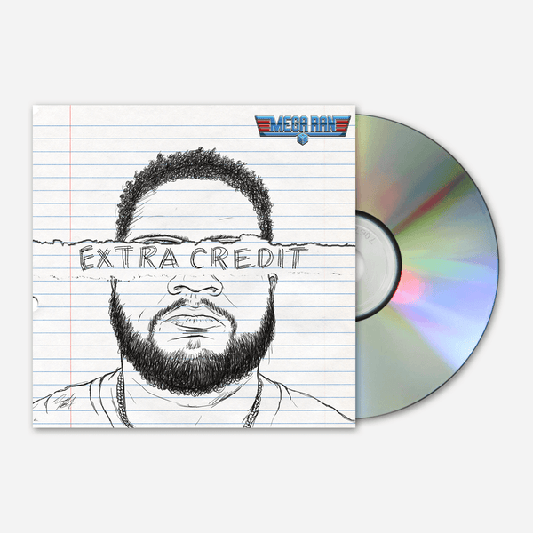 Extra Credit Signed CD by Mega Ran for sale on hellomerch.com