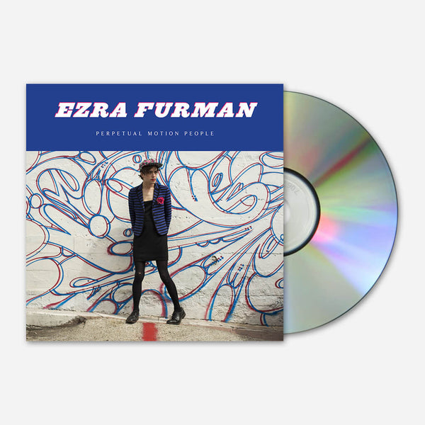 Perpetual Motion People CD by Ezra Furman for sale on hellomerch.com