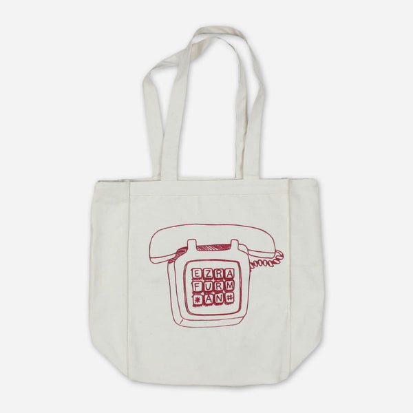 Phone Canvas Tote Bag by Ezra Furman for sale on hellomerch.com