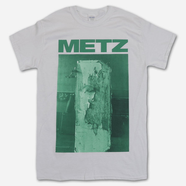 Eraser White T-Shirt by Metz for sale on hellomerch.com