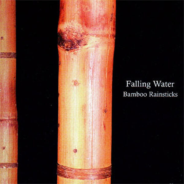 Falling Water - Bamboo Rainsticks CD - Billy Martin - Hello Merch