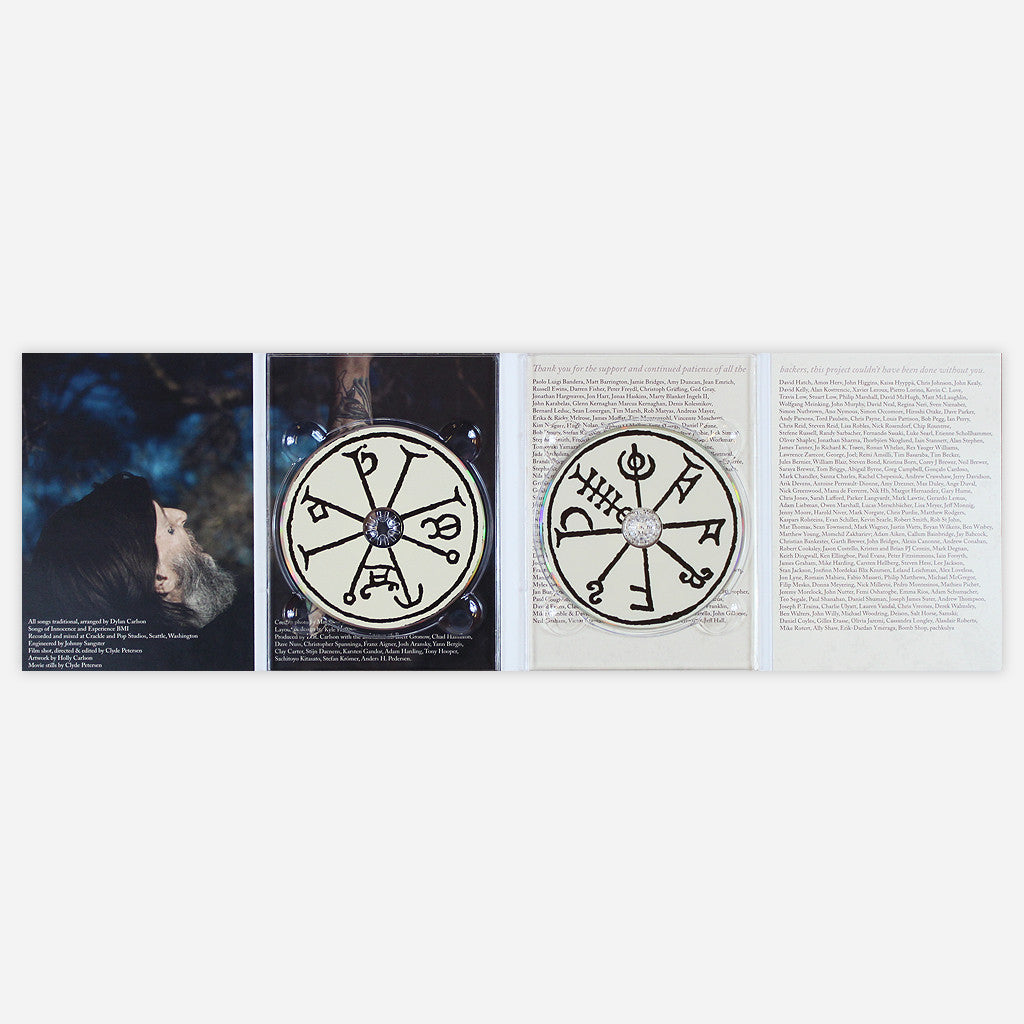 DRCARLSONALBION & COLEMAN GREY FALLING WITH A THOUSAND STARS… CD/DVD - Earth - Hello Merch