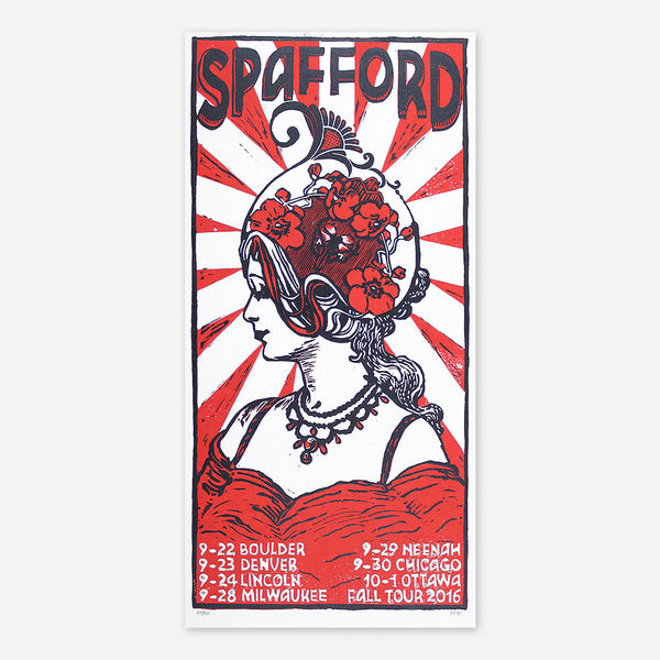 Fall Tour 2016 Poster by Spafford for sale on hellomerch.com
