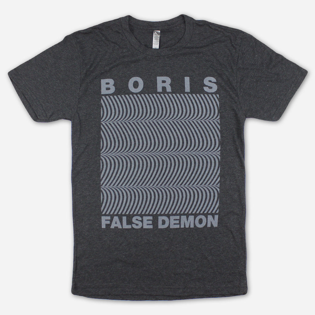 False Demon Black Tri-Blend - Boris (Band) - Hello Merch