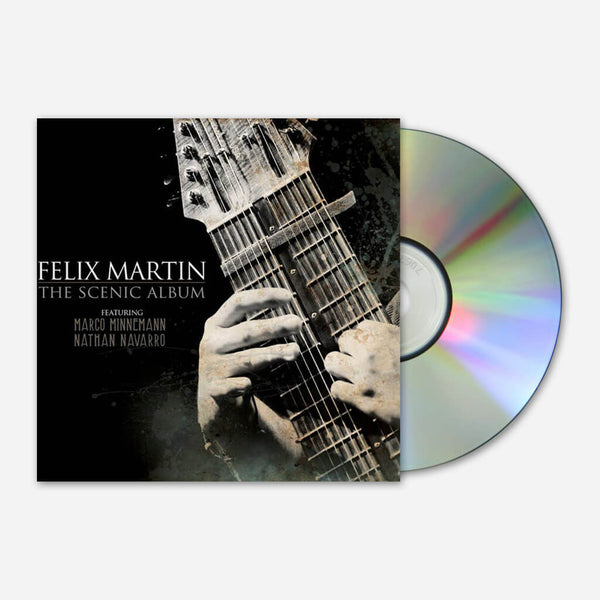 The Scenic Album Signed CD by Felix Martin for sale on hellomerch.com