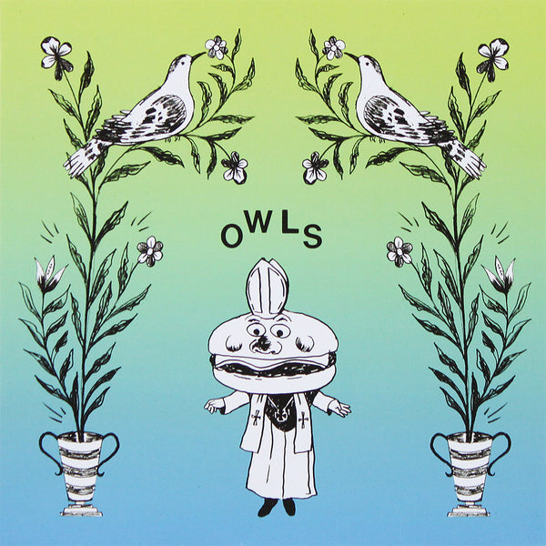 Limited Edition Flexi Disc Single by Owls for sale on hellomerch.com