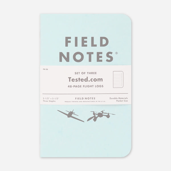 Flight Log 3-Pack by Field Notes for sale on hellomerch.com