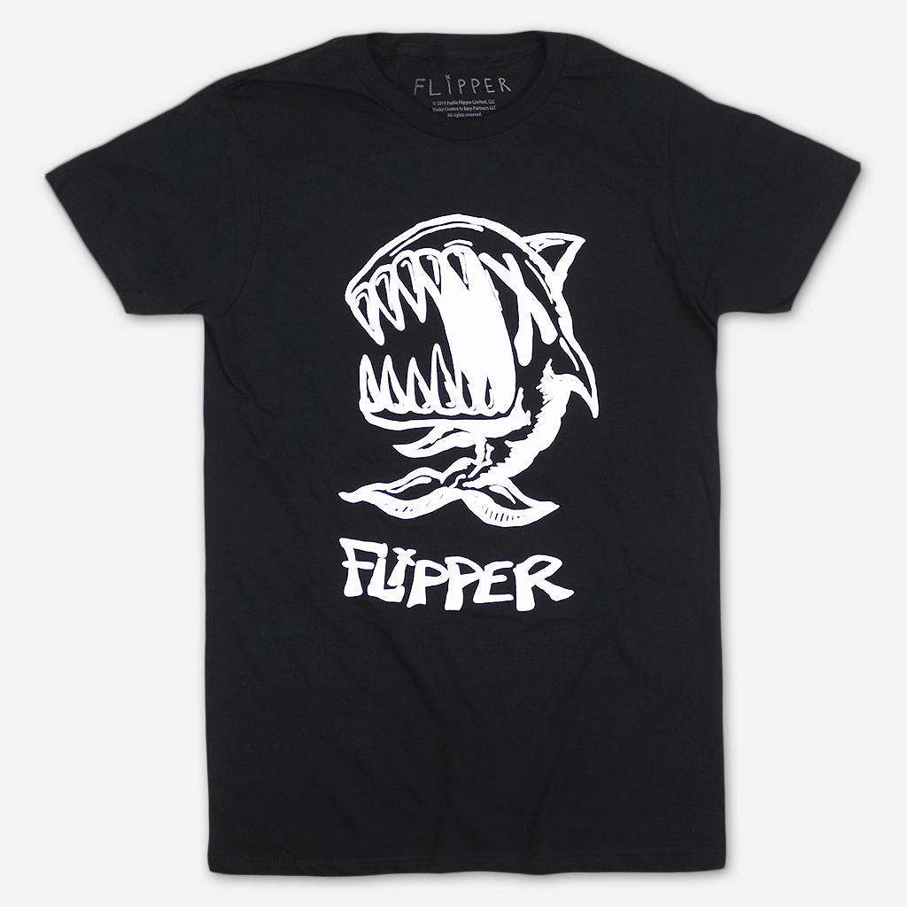 X Fish Black T-Shirt