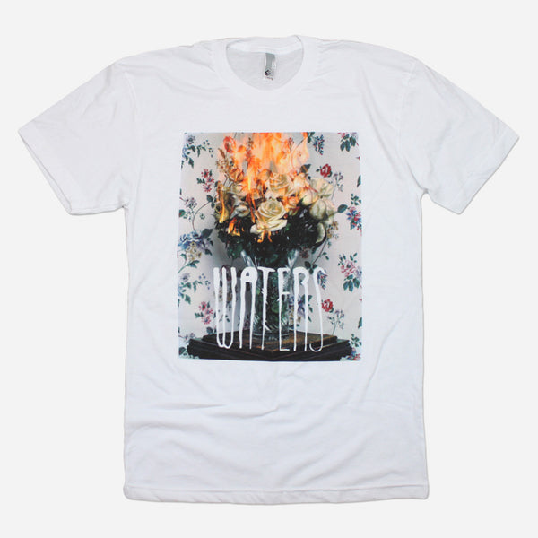 What's Real? White T-Shirt by WATERS for sale on hellomerch.com