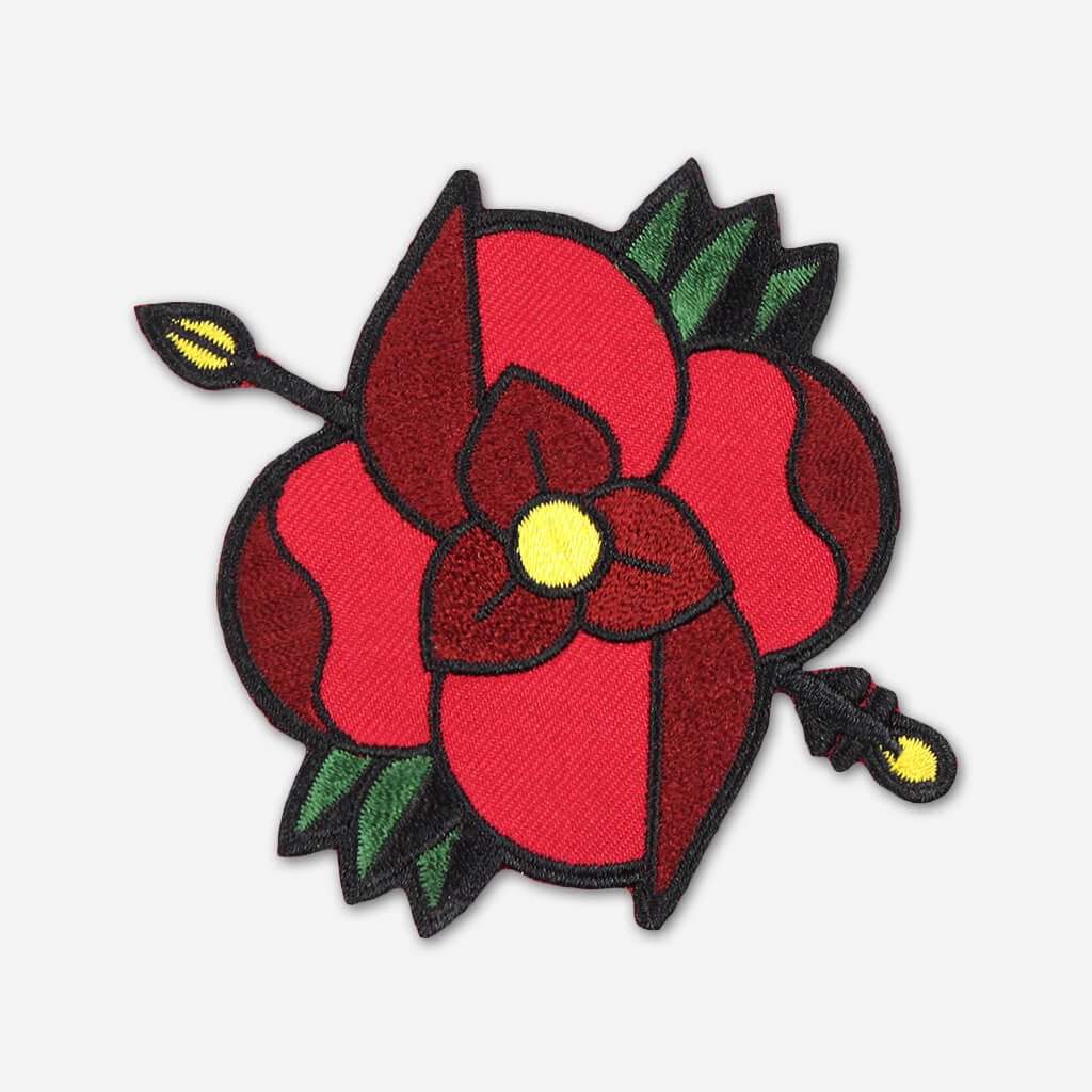 Flower Logo Patch